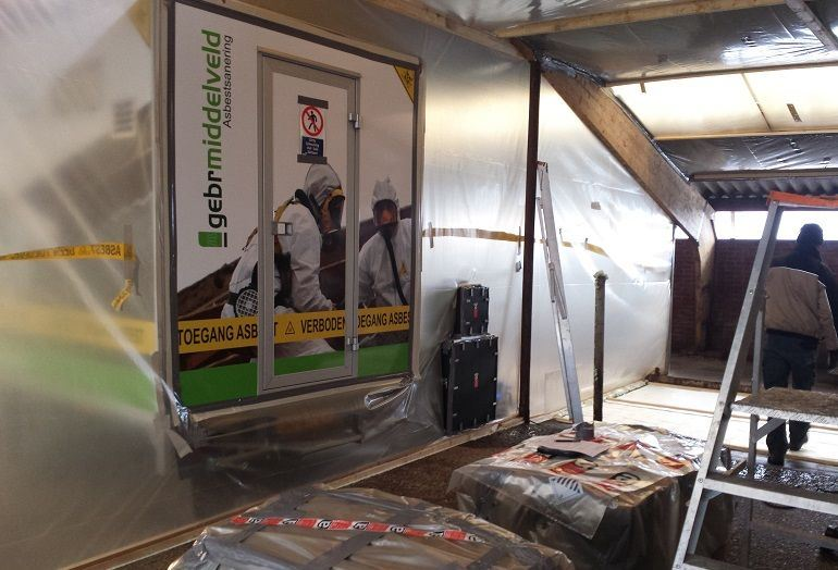 stappenplan asbestsanering