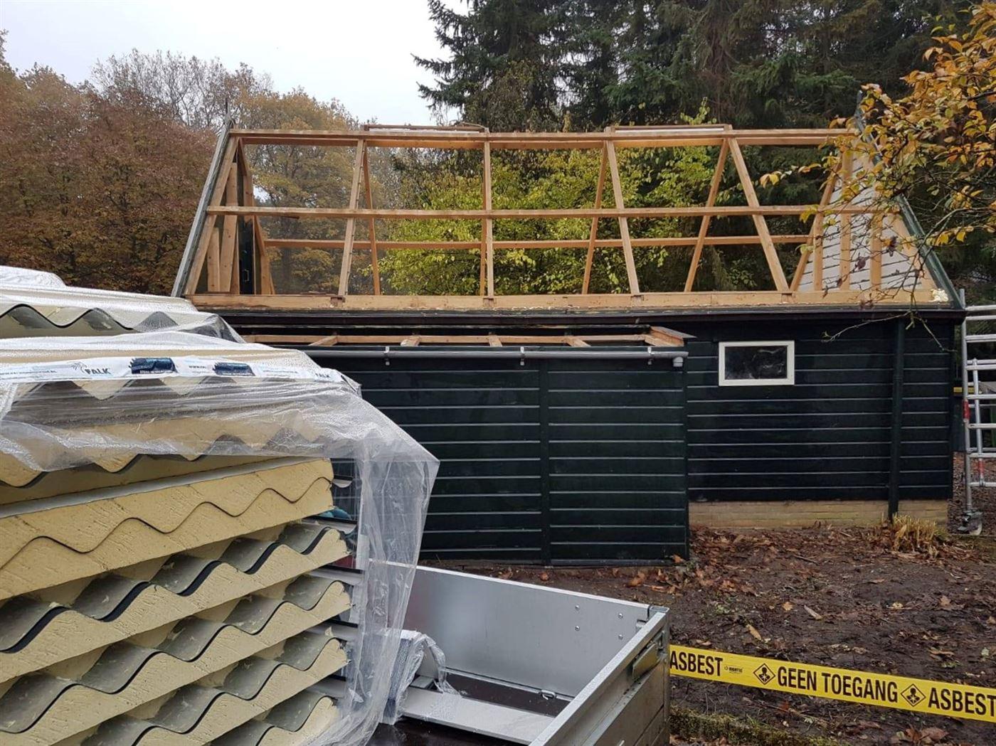 Sanering kleine daken