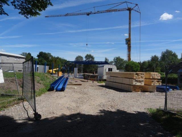 constructie bedrijfsruimte