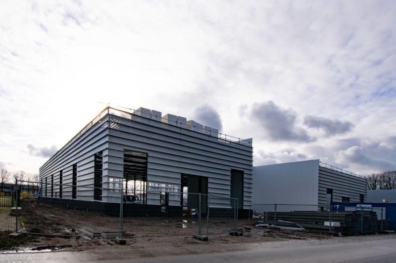 Nieuwbouw bedrijfshal