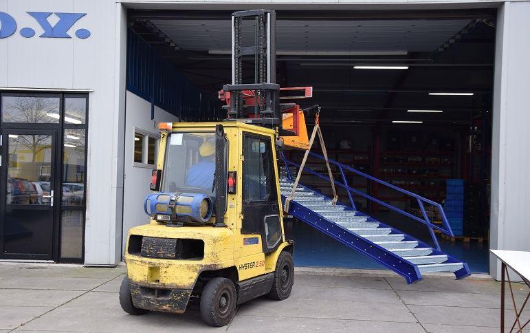 monteren trap fabriek