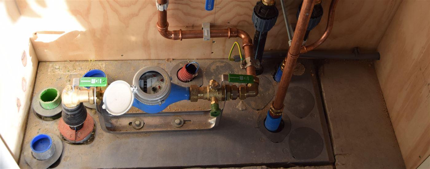watermeter installatie