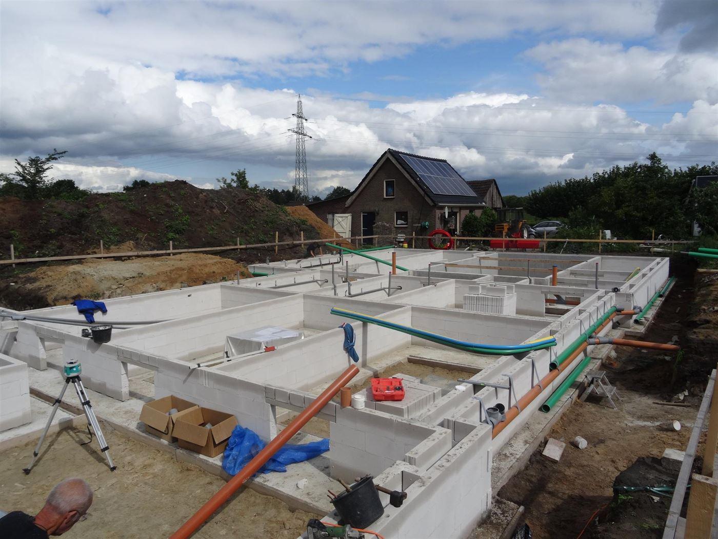 Riolering aanleggen in nieuwbouw woning