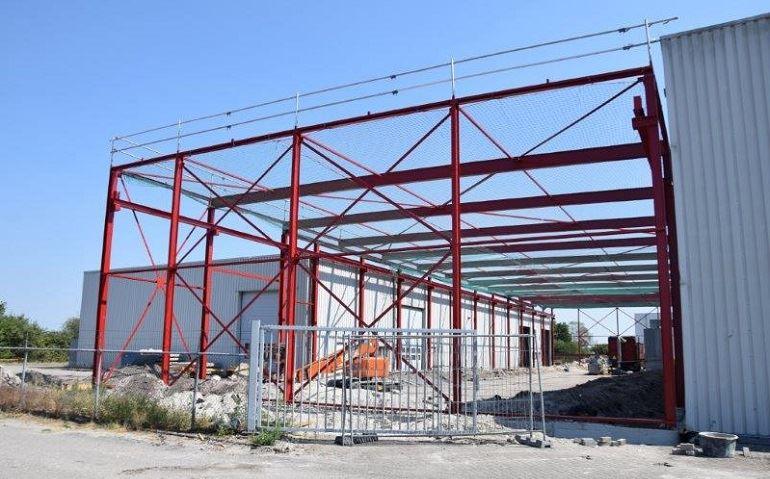 Hallenbouw bedrijfshal