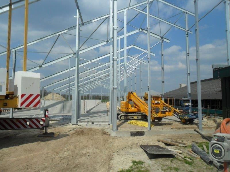 nieuwbouw ligboxenstal