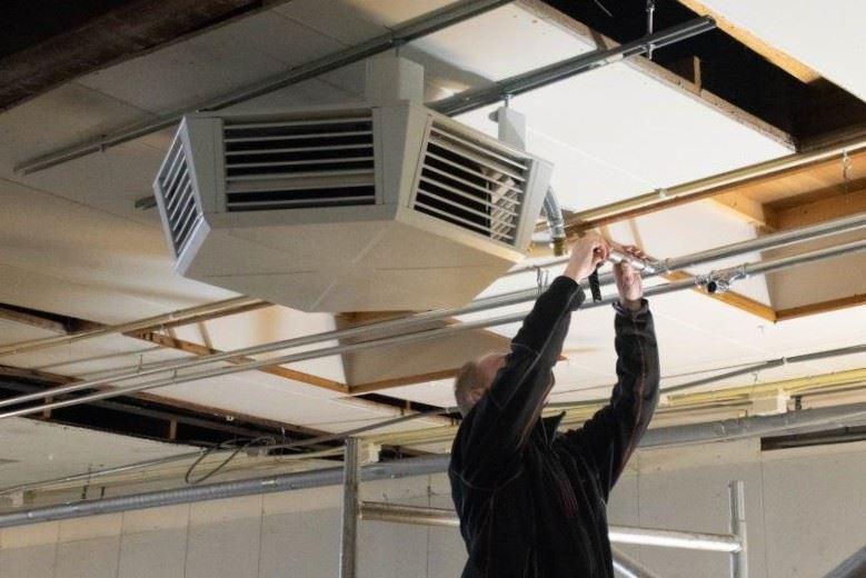 heaters installeren