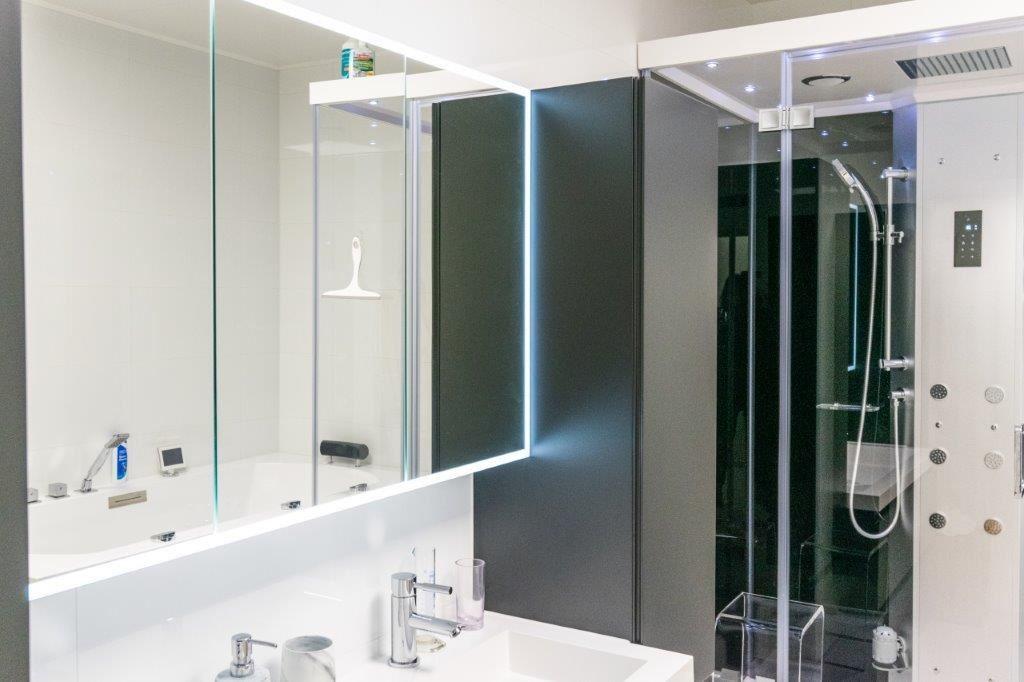 elementen in de badkamer