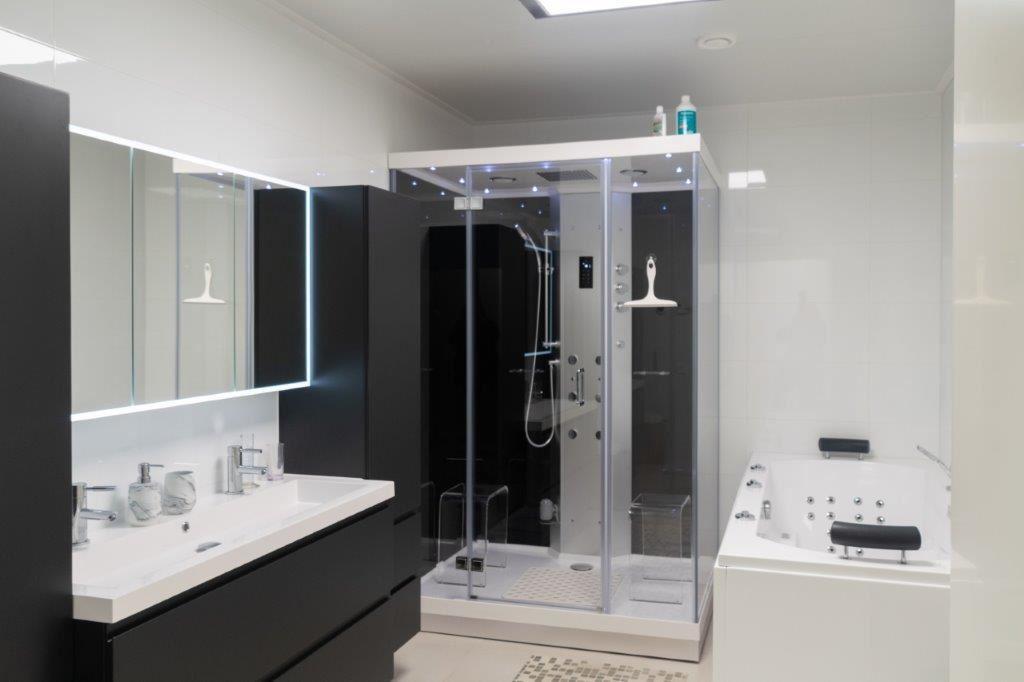 Spa in de badkamer