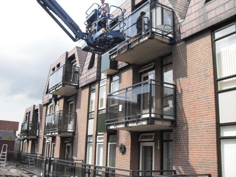 renovatie balkonhekken